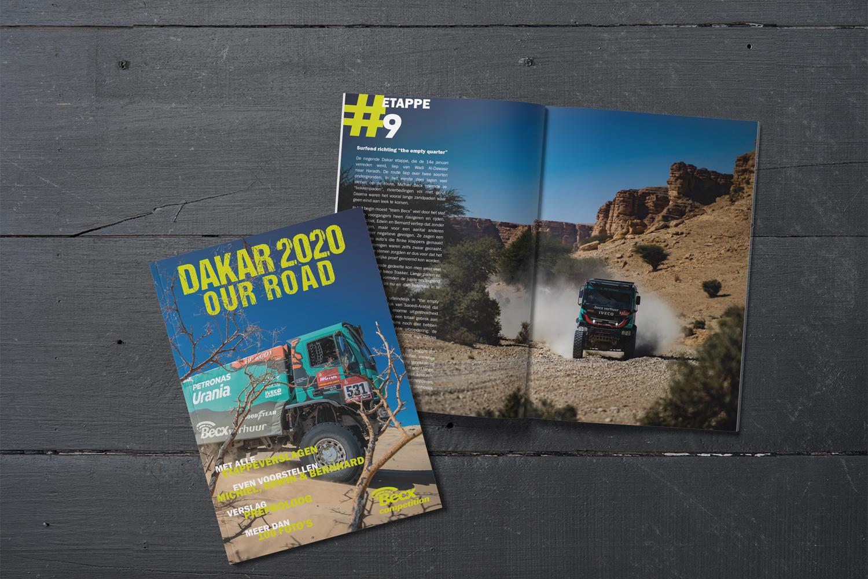 Becx Verhuur magazine Dakar 2020