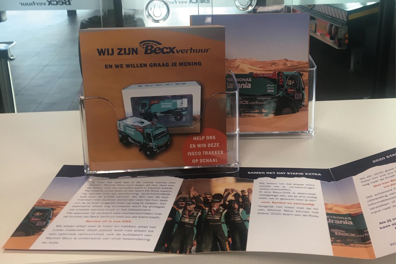 Becx Verhuur flyer