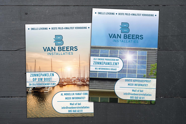 flyer van Beers installaties
